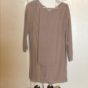 H&M lilac/ivory tunic/dress